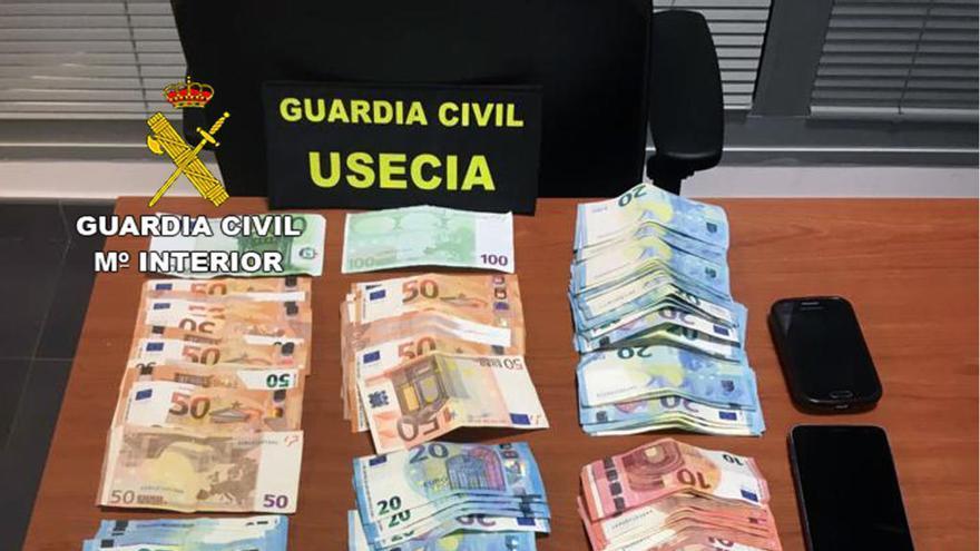 Desmantelan en Lorca un punto de venta de droga ambulante