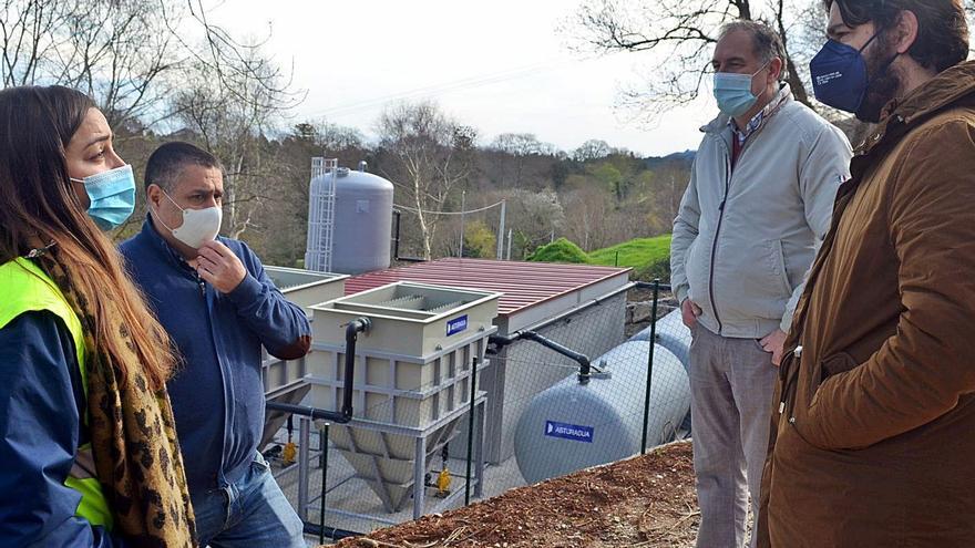 La potabilizadora de Nueva, que servirá a 15 pueblos, iniciará en breve la fase de pruebas