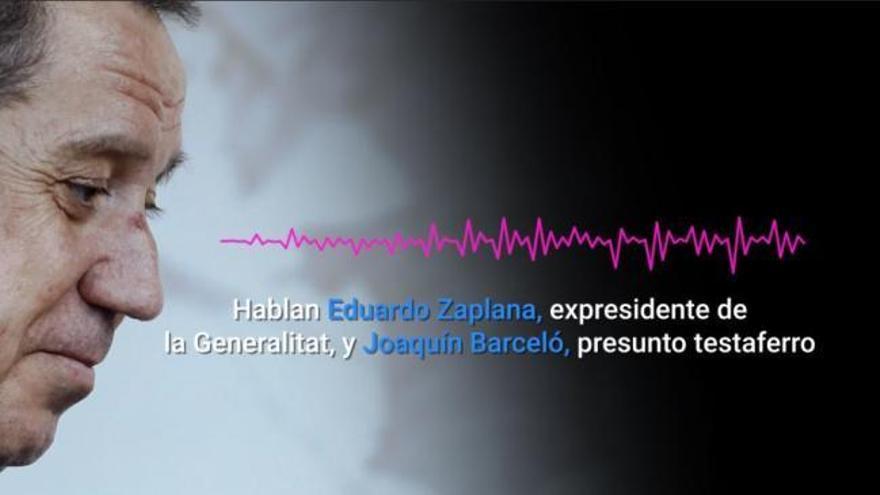 """Zaplana habla en clave: """"Le ha venido la regla y está todo en orden (...) a esa no la dejas preñada"""""""