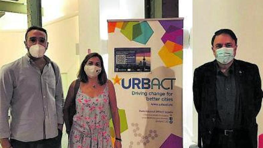Manresa participa en la jornada de Transferències Urbanes d'Urbact a Madrid amb l'exposició del projecte de La Canal
