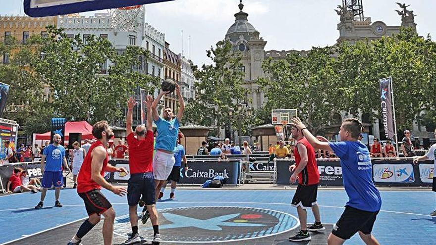 El circuito Plaza 3x3 CaixaBank regresa este domingo en Valencia