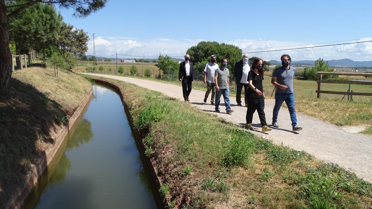 A la jornada es va presentar, entre altres, el projecte Camins de la Sèquia