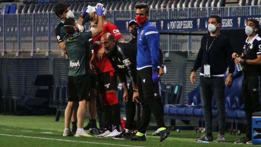 Luis García:«La reacción del equipo tras el penalti ha sido buenísima»