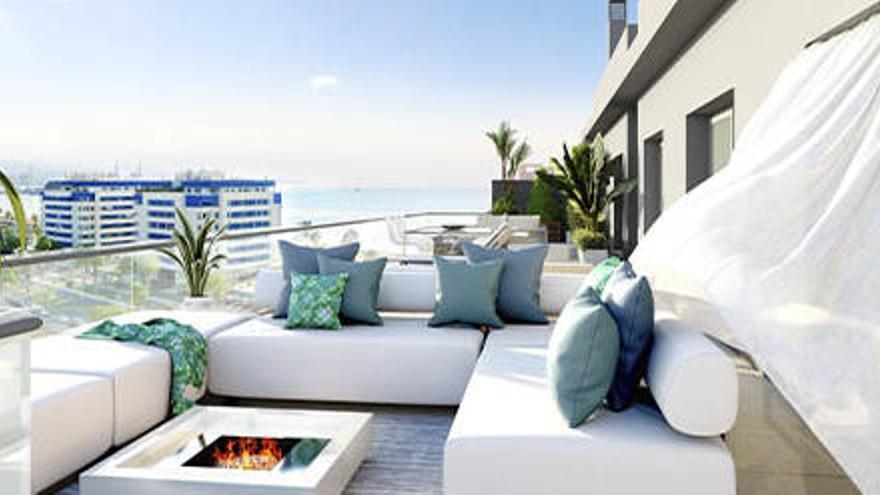 ¿Buscas casa junto al mar en Málaga? Residencial Pacífico es tu nuevo hogar