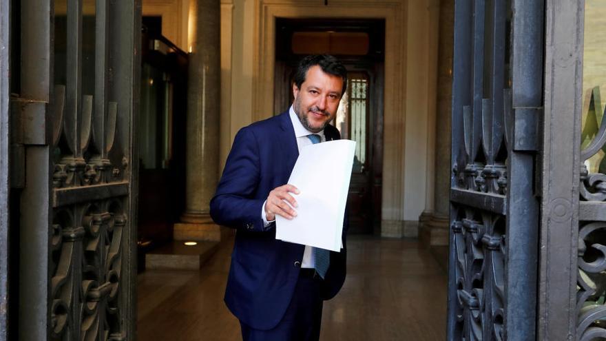 El Senado italiano permite juzgar a Salvini por bloquear al barco 'Open Arms'