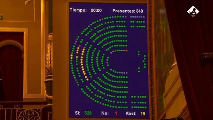 Rajoy se equivoca en una enmienda pactada y vota 'no'