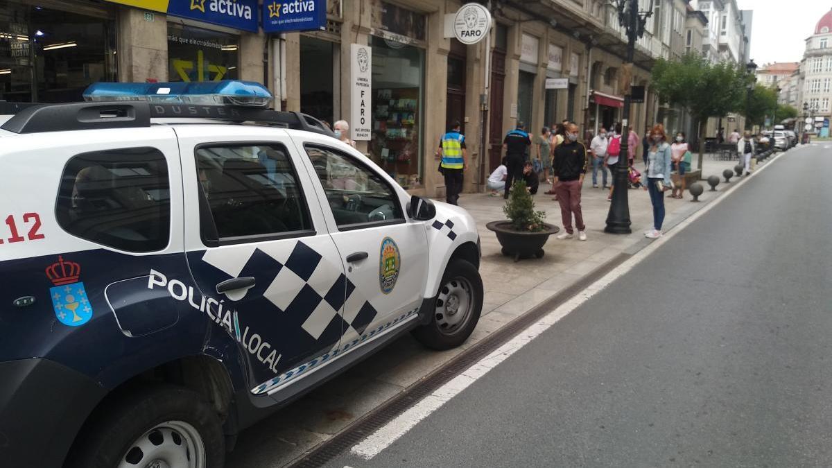 Los hechos tuvieron lugar en la calle Calvo Sotelo.