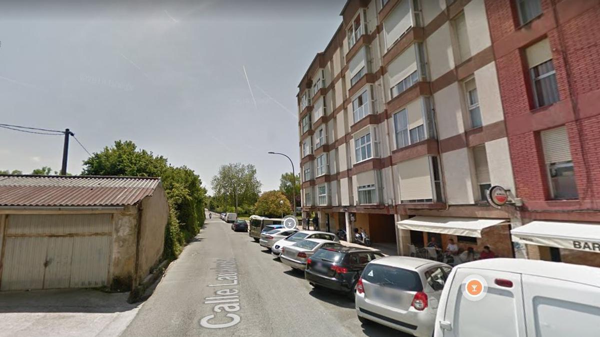 La calle en la que ocurrieron los hechos, en San Sebastián