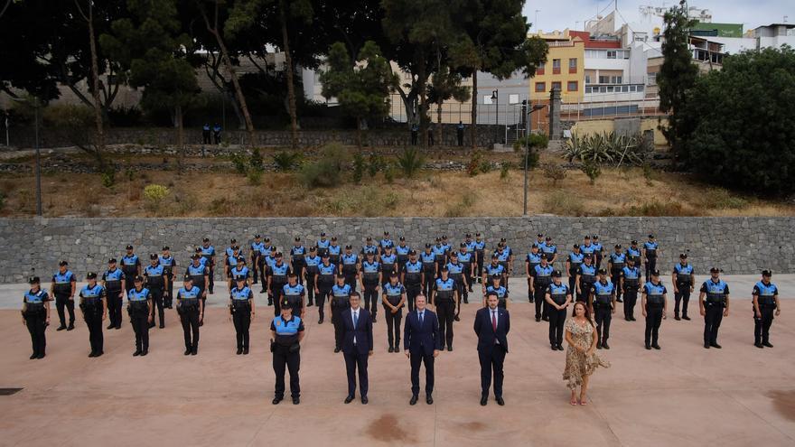 Las Palmas de Gran Canaria incorpora 66 nuevos agentes de Policía Local