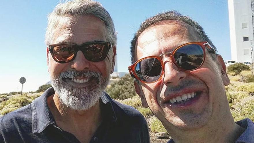 George Clooney prepara su película para Netflix en Tenerife