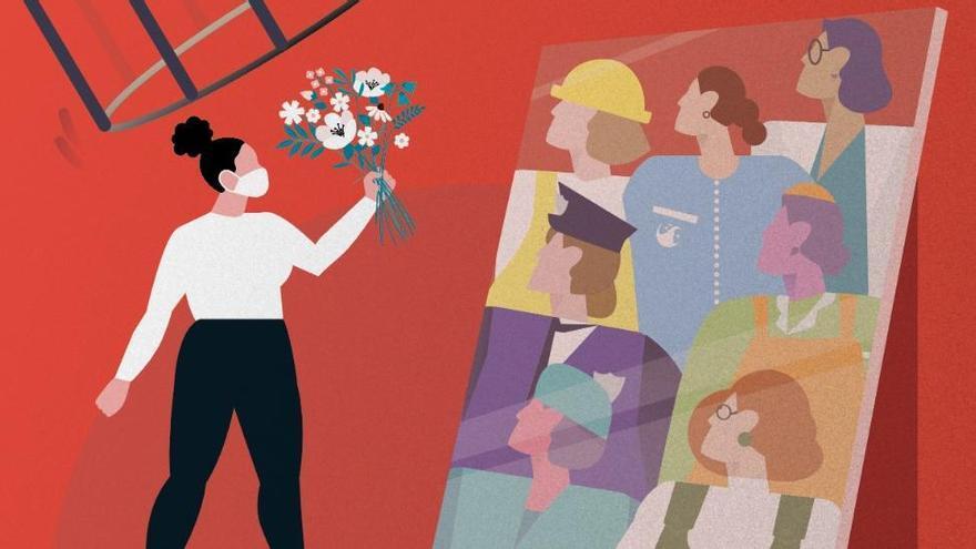 """8M, Día Internacional de las Mujeres: """"Esenciales"""""""