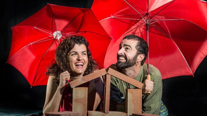 Pata Teatro presentan 'Debajo del tejado'