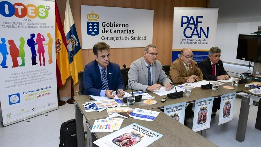 Fumar mata a 2.300 personas al año en Canarias