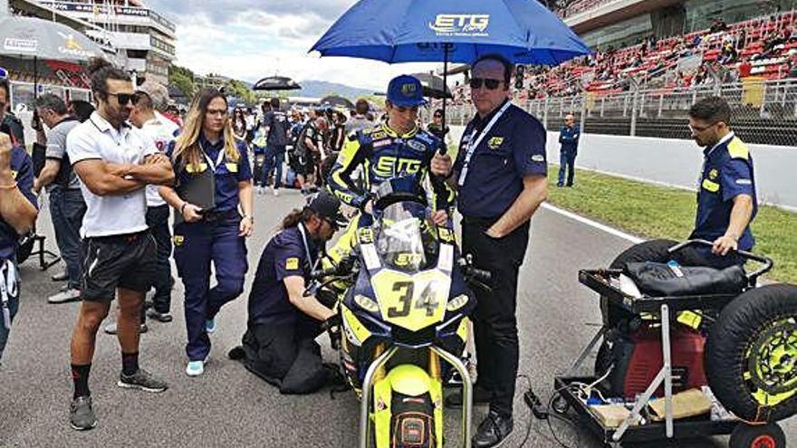 Pinsach, de l'ETG Racing, acaba sisè a Montmeló