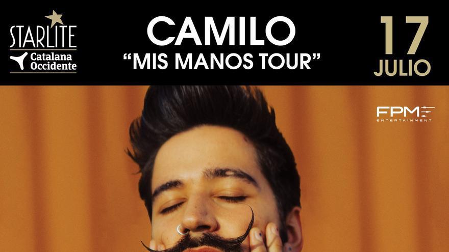 Camilo actuará el 17 de julio en Starlite