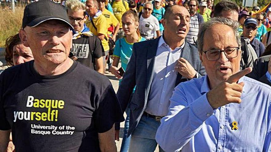 Las 'marchas por la libertad' confluirán durante la huelga de mañana en Barcelona