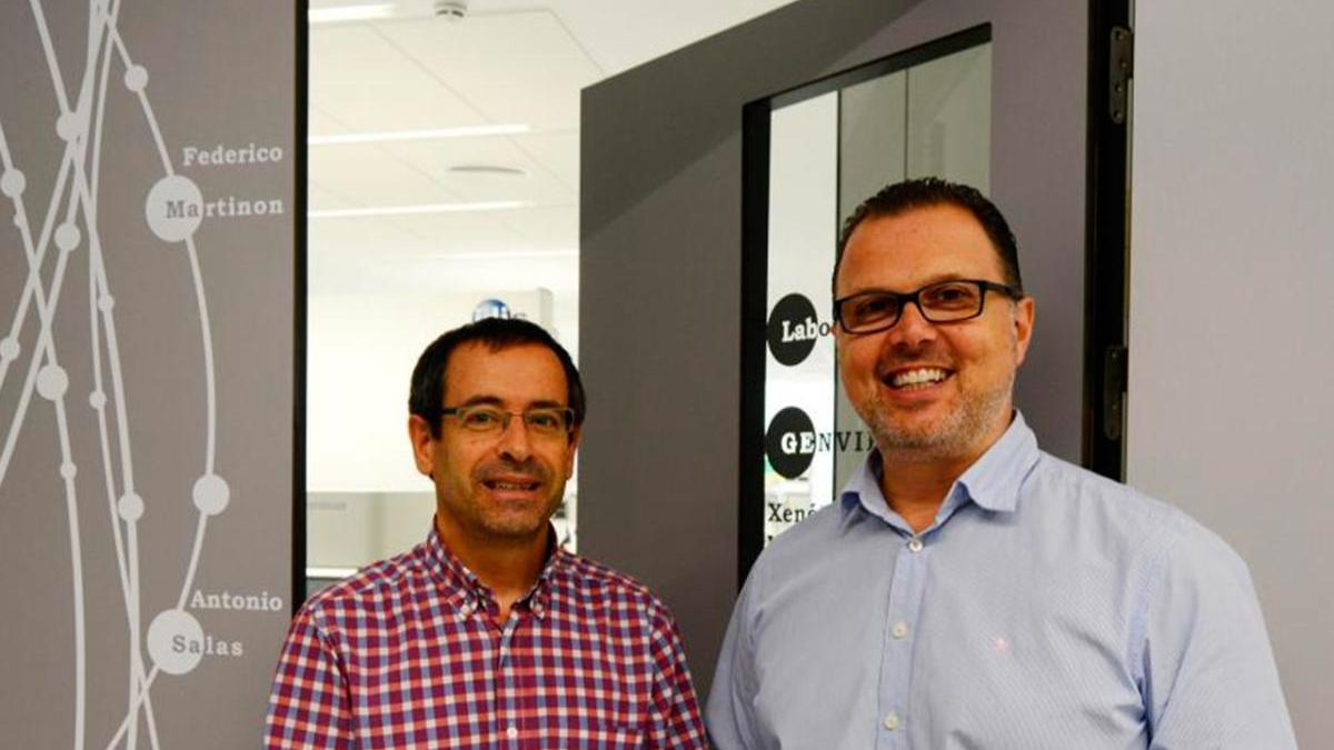Antonio Salas y Federico Martinón en una imagen de archivo