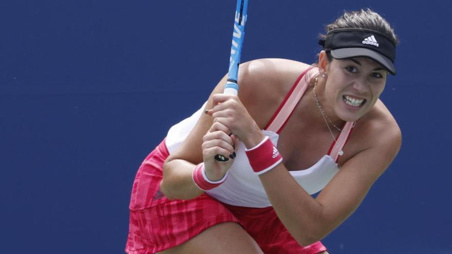 Garbiñe Muguruza, eliminada del US Open en segunda ronda