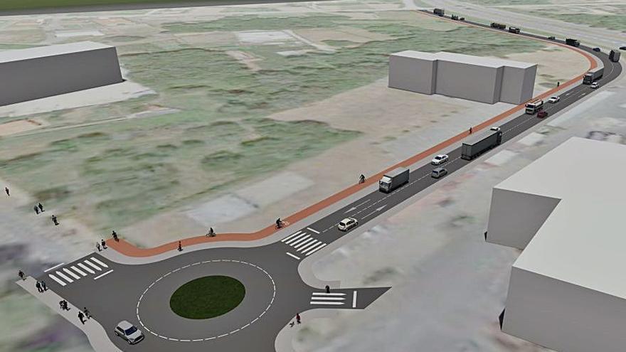 A Cañiza impulsa un nuevo vial entre el Centro Comarcal y el Área de Servicio