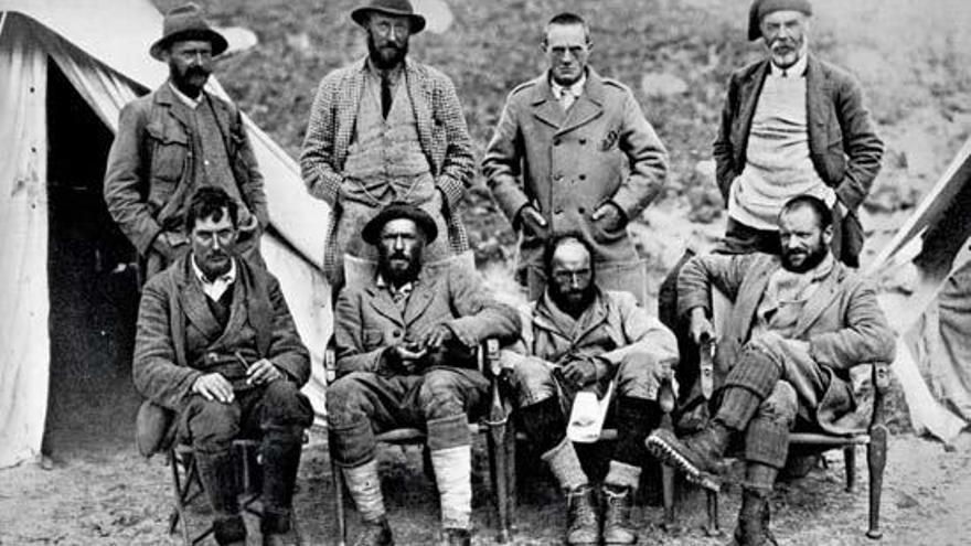 L'aventurer George Leigh Mallory reviu al llibre «Escalada al Everest»