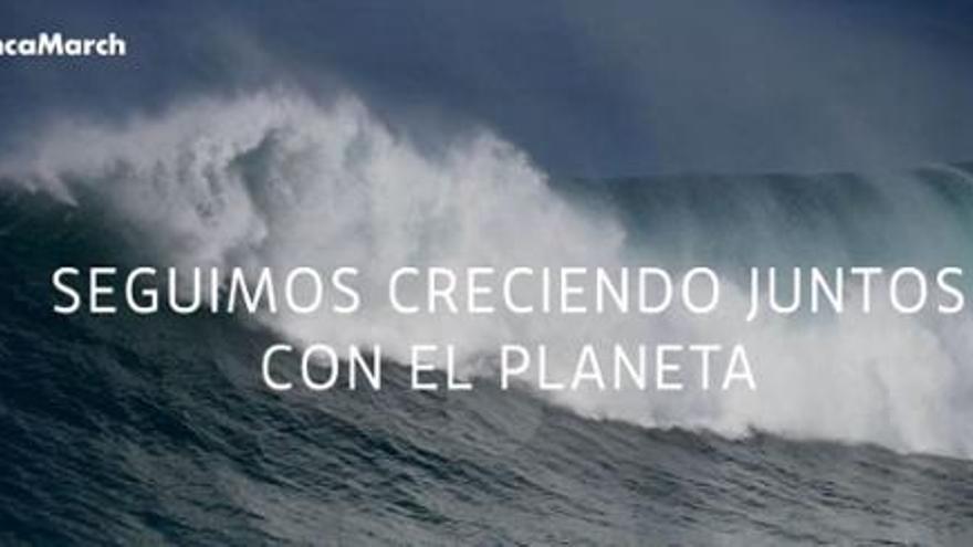 Banca March se une a 'La Hora del Planeta'