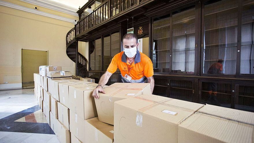 La biblioteca Carles Ros deja la Casa Vestuario al Tribunal de las Aguas