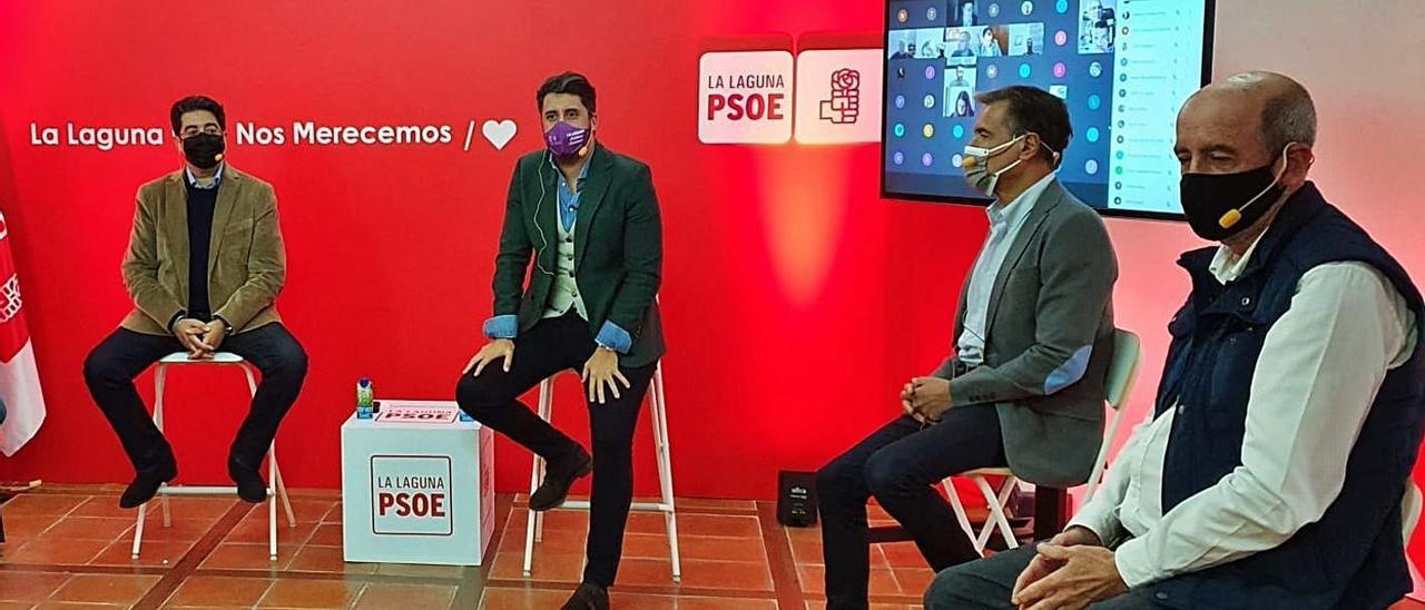 Santiago Pérez se refugia en el Partido Socialista para aforarse en el Senado