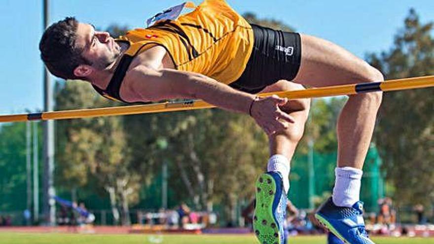 Marc Sánchez, del CAI,  va ser sisè en salt d'alçada a Itàlia