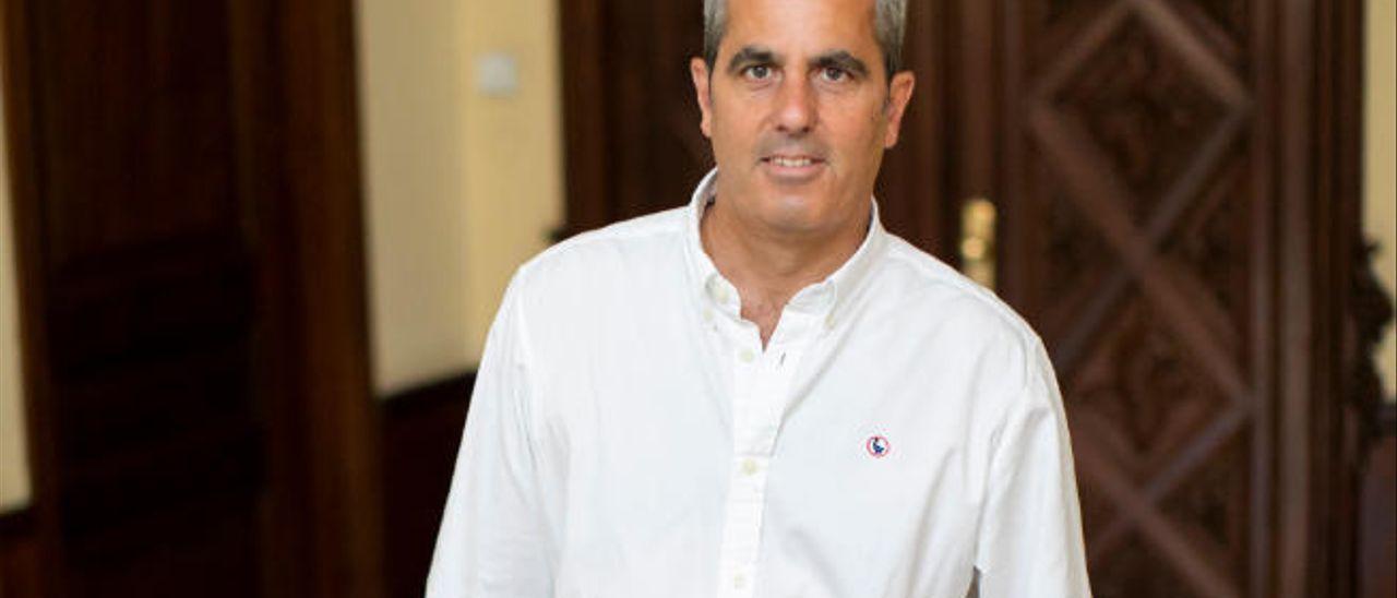 El alcalde, Miguel Jorge Blanco.