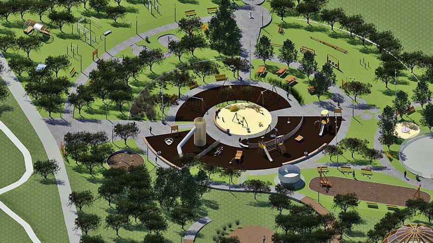 La obra del parque central de Arteixo será licitada en julio tras aprobar la expropiación