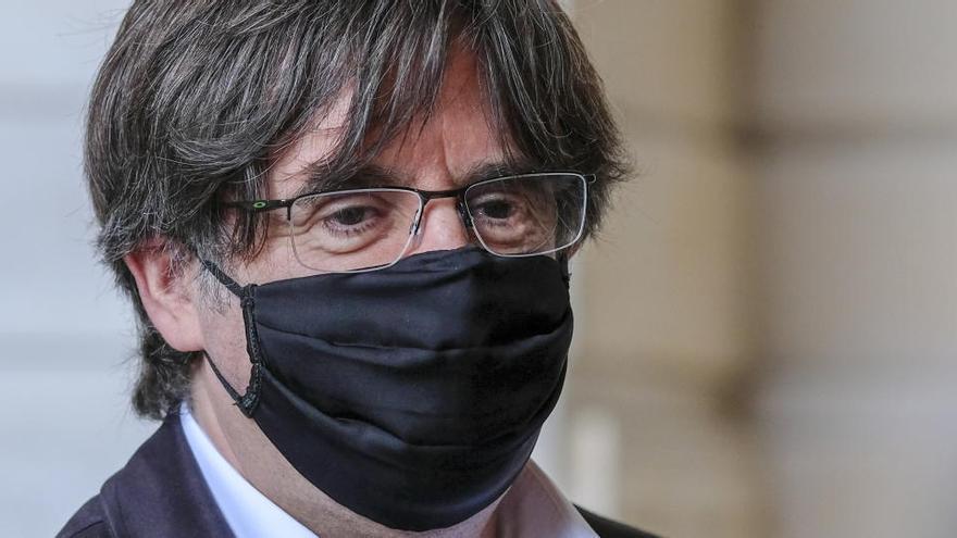 Puigdemont llama a no perder la paciencia y persistir hasta lograr la independencia