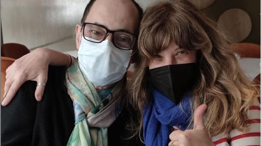 Jordi Sánchez se reencuentra con Nathalie Seseña tras superar el coronavirus