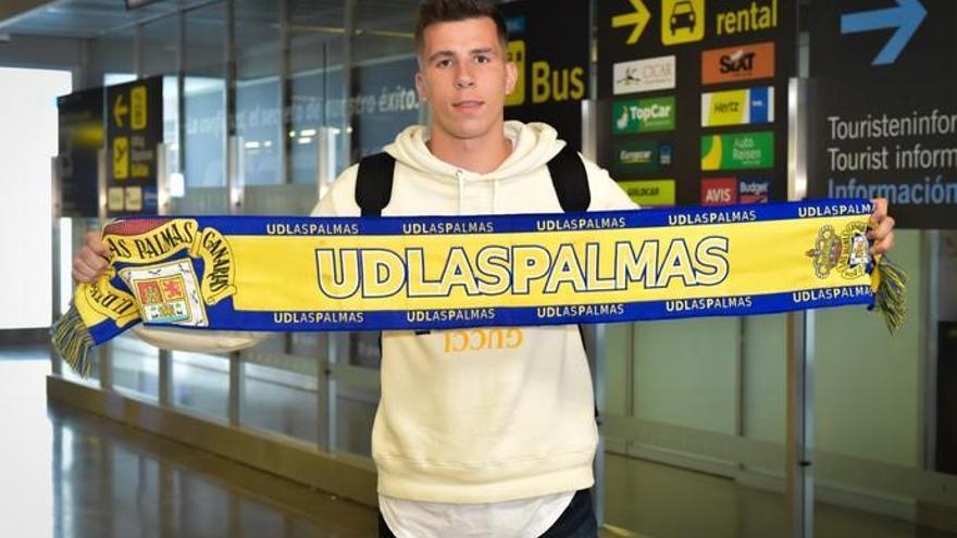 Christian Rivera aterriza en Gran Canaria