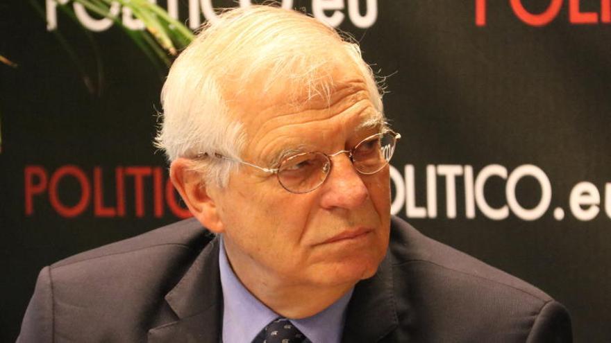 Cunillera defensa que Borrell és «honrat» i que no s'està sent just amb la seva «gran tasca»