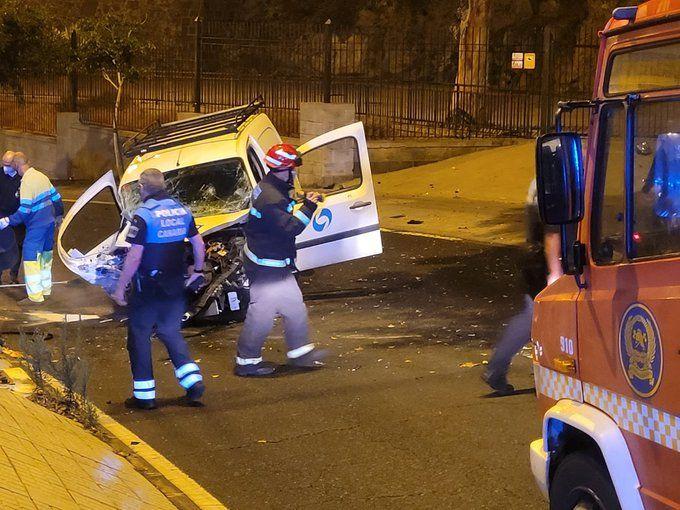 Accidente en la carretera de Mata