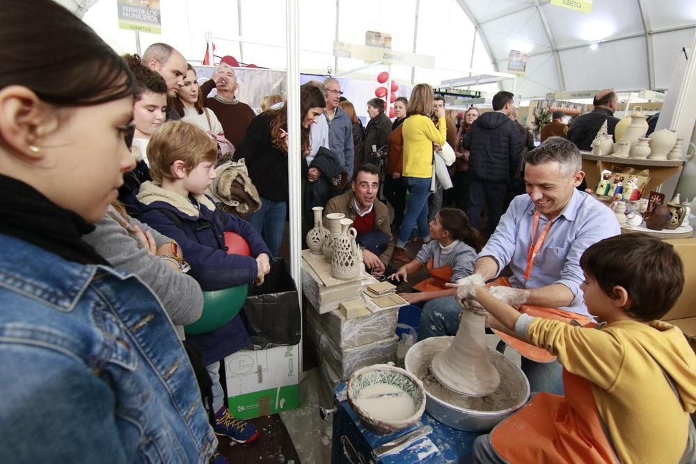 La jornada del sábado en la Feria de los Municipios