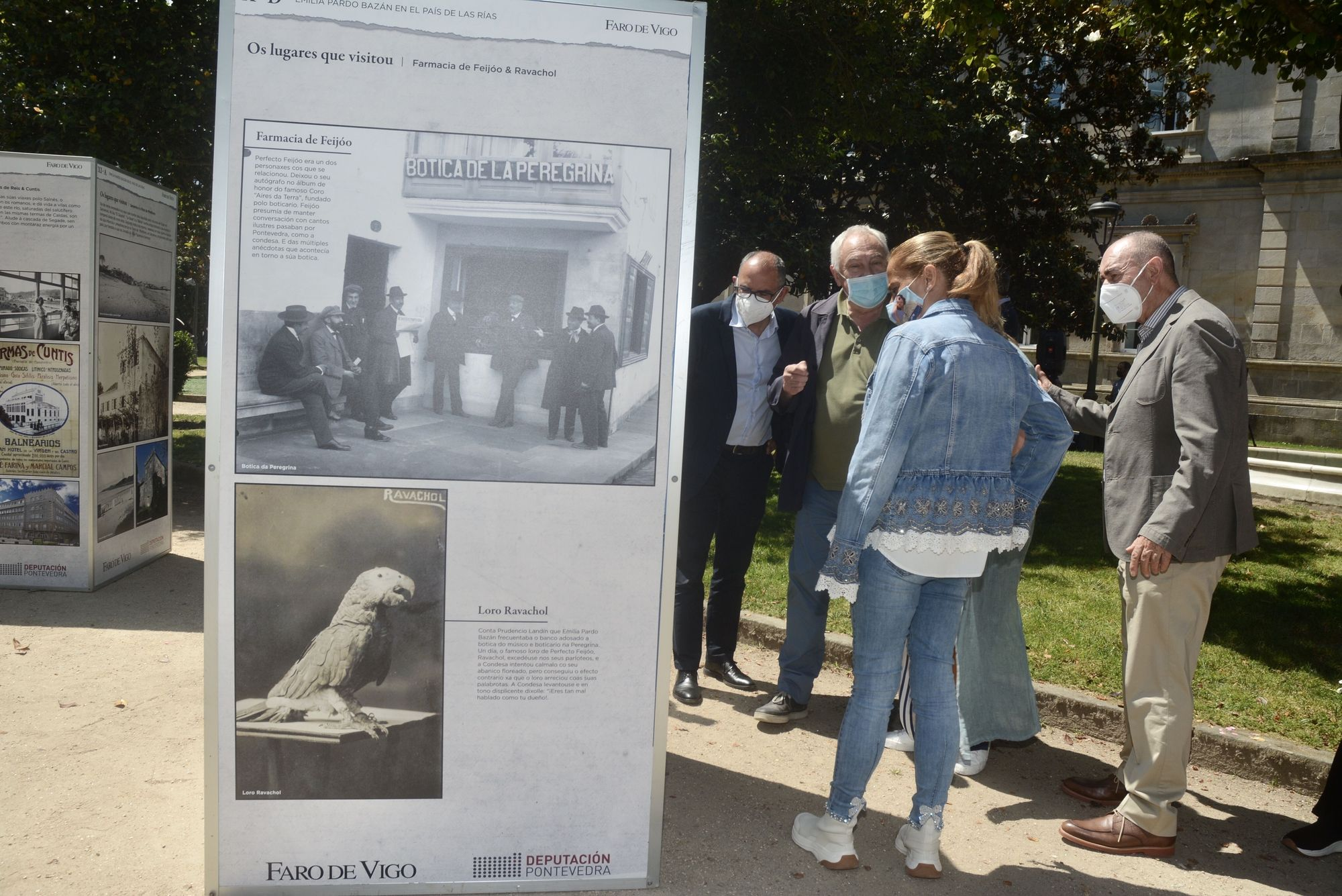 Un paseo por Pontevedra con Emilia Pardo Bazán a través de FARO