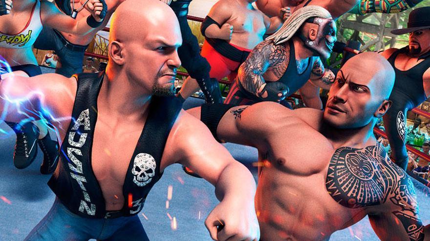 Así es WWE 2K Battlegrounds, que anuncia planes de lanzamiento para consola y PC