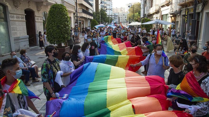 Marcha del colectivo LGTBI+ en Cartagena