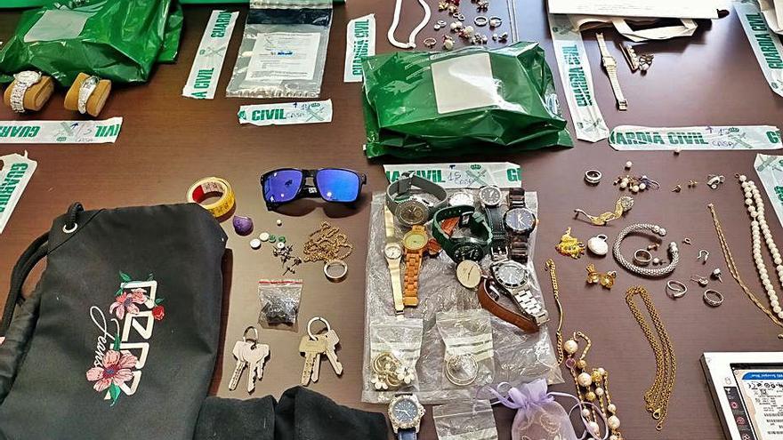Desarticulado un grupo criminal acusado de perpetrar robos con fuerza en Lalín