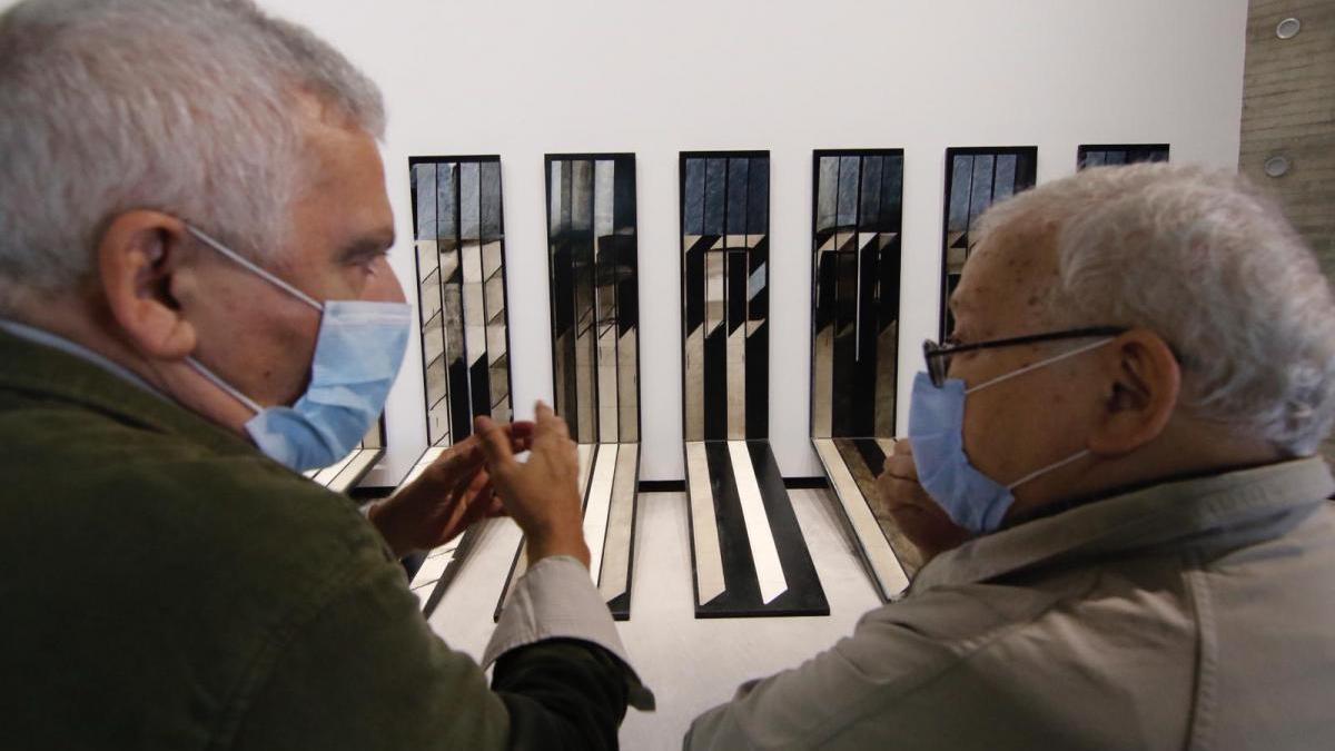 El C3A 'revive' una exposición de arte de 1975 en la galería Vivancos