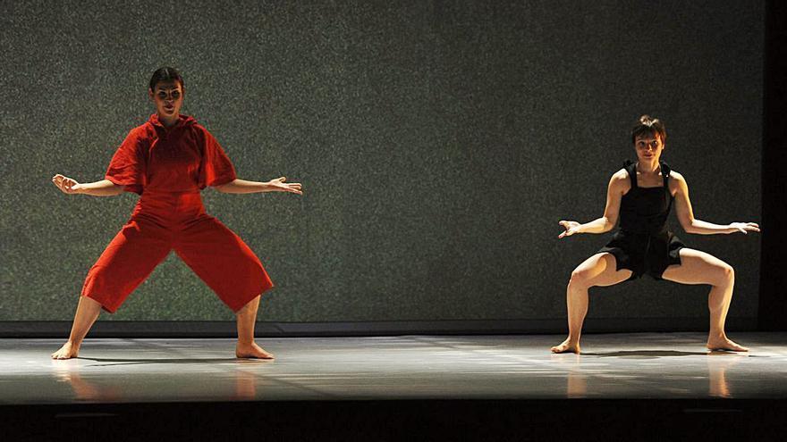 Espectáculo de danza por la obra de Joan Miró en A Estrada