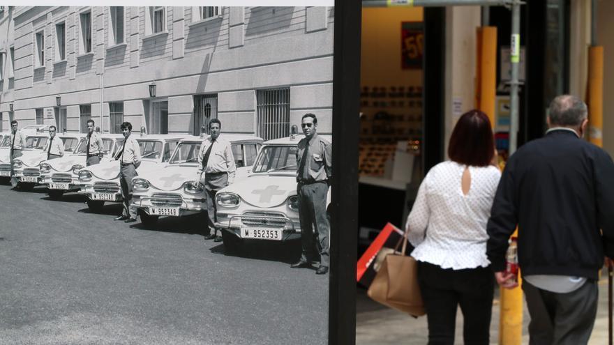 Los 65 años de historia del Hospital Regional recorren la calle Larios