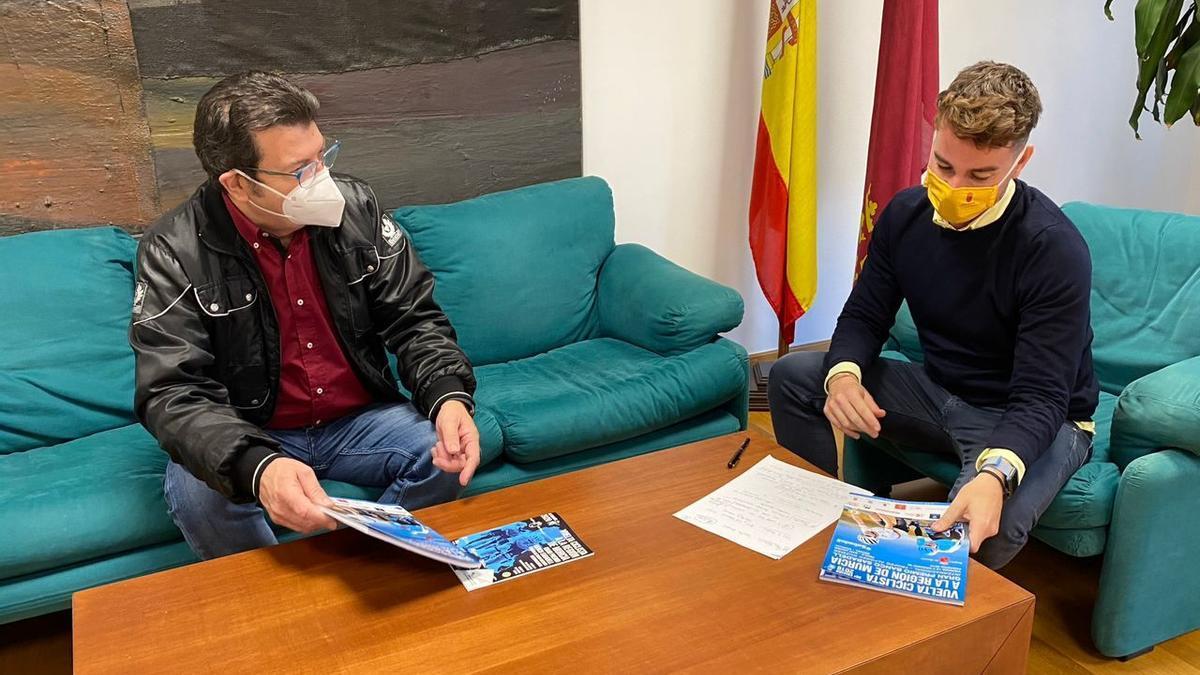 Alfonso Guzmán y Fran Sánchez, durante una reunión