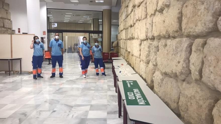 Salud empezará a vacunar en el Ayuntamiento de Córdoba a partir del miércoles