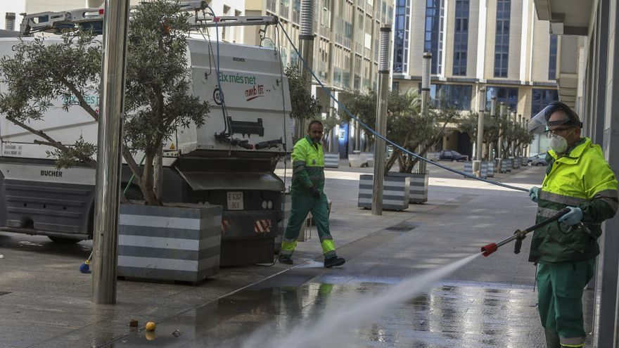 Valoriza presenta la oferta económica más baja para el contrato de la limpieza en Elche por 27,9 millones al año