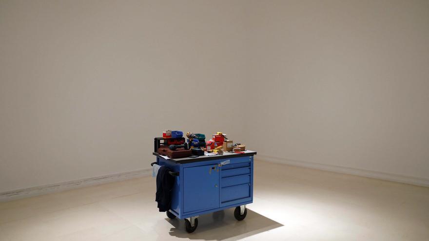 Cómo se monta una exposición. 'Imaginarios Mecánicos' en el IVAM.