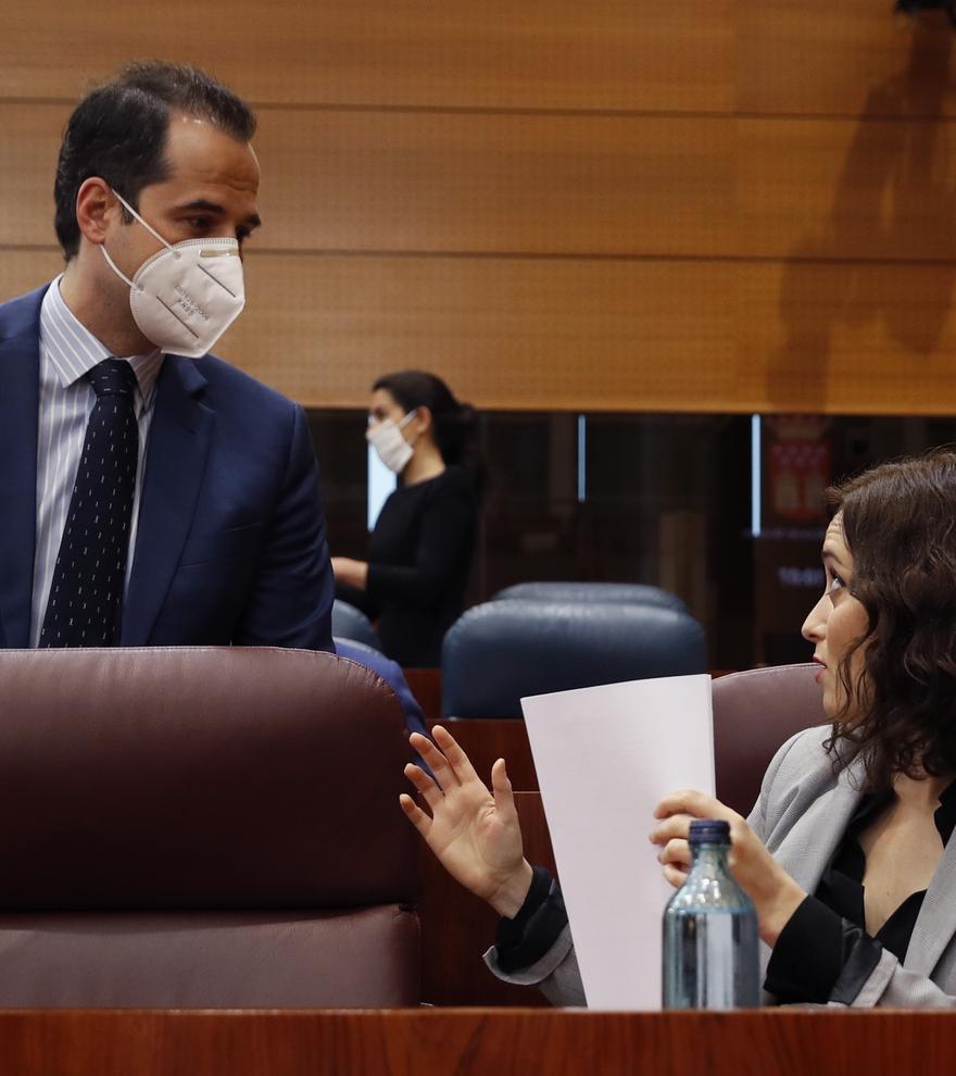 """Ignacio Aguado destapa a Ayuso en Cuatro: """"Se quitará de en medio a Pablo Casado"""""""