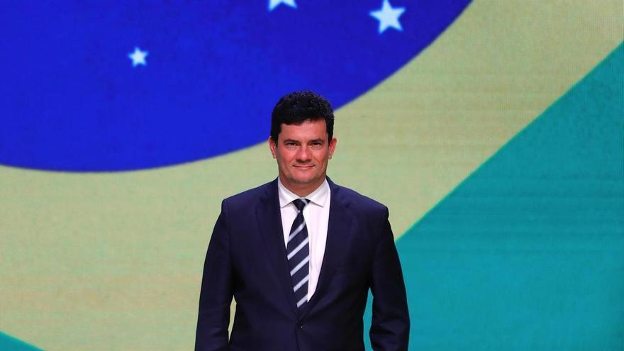 El exministro de Justicia de Brasil, Sergio Moro.