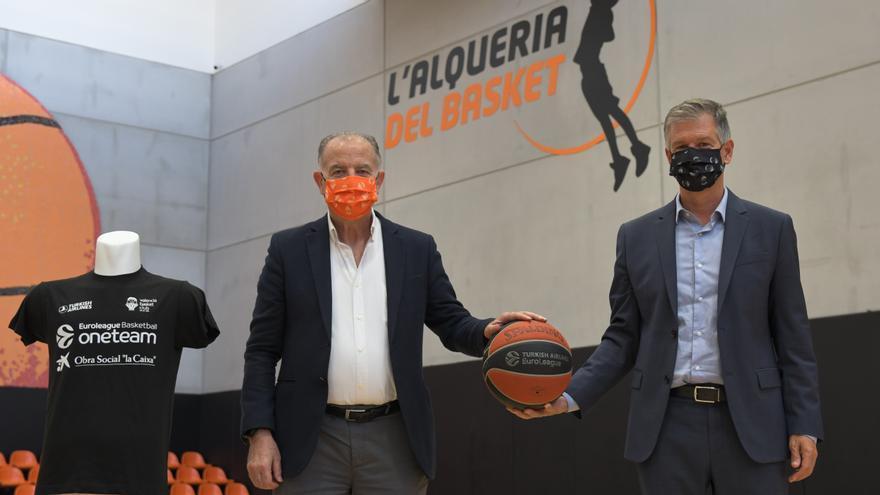 Fundación 'la Caixa' y CaixaBank renuevan su apoyo al programa social One Team del Valencia Basket Club